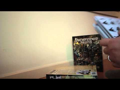 Unboxing Pathfinder Pawns: NPC Codex Box