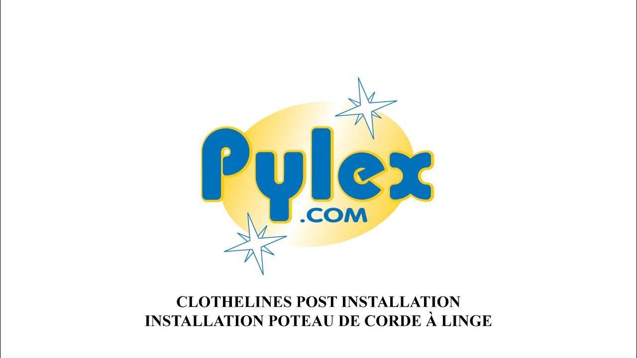 Clothelines post installation installation poteau de for Installer corde a linge