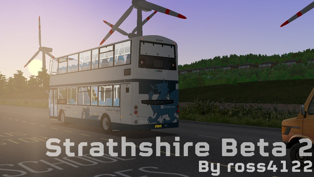 OMSI 2 (UK map Strathshire PRIVATE Beta 2) - Route 321