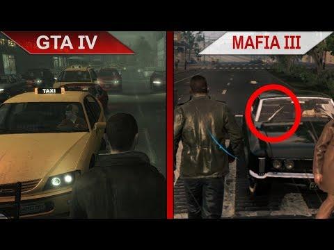 THE BIG GTA IV vs. MAFIA III SBS COMPARISON   PC   ULTRA