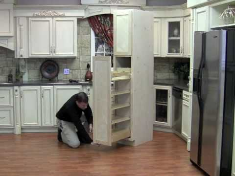 Installing The Pullout Wood Pantry Youtube
