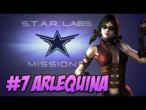 Star Labs - Injustice Gods Among Us - Injustice Gods Among Us: Star Labs #7 Arlequina