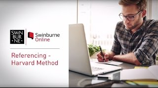 How To Reference - Harטard Style Referencing Guide | Swinburne Online