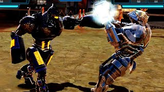 REAL STEEL WRB Noisy Boy VS Atom & Bio War & Zeus & Hollowjack