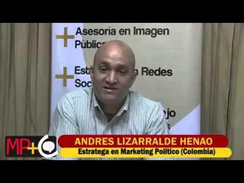 Andrés Lizarralde saluda a Política Comunicada