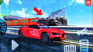 Trains vs  Car Race ||| 3D Car Race game 2019 ||| #andriod #gameplay #racing #challenge