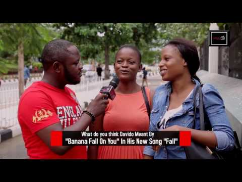 """""""Banana Fall On you"""" What does this line mean in Davido's  new track """"Fall""""?  DelarueTV 