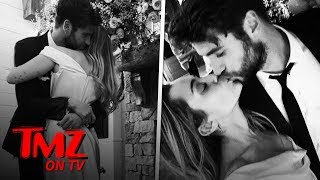 Miley Cyrus and Liam Hemsworth Married!   TMZ TV