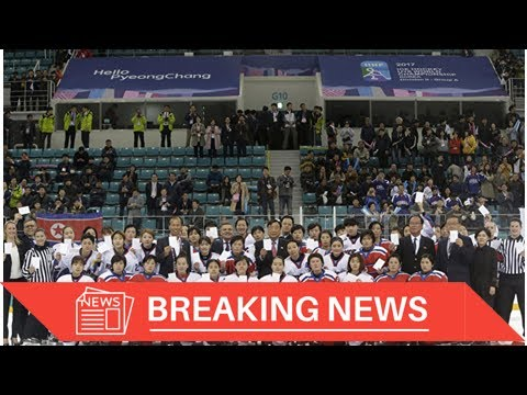 [Breaking News] Seoul, Pyongyang to form joint hockey team of women at the Olympics the year 2018-r