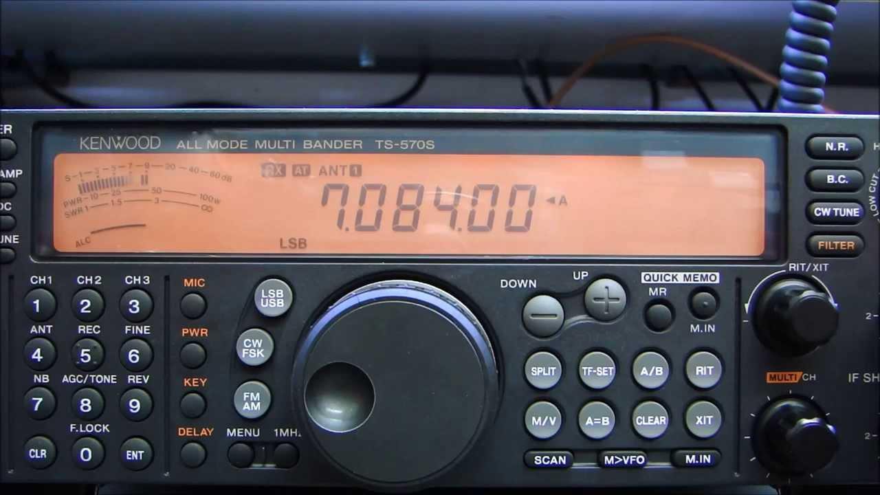 Kenwood Ts-570 Com Problemas No Acoplador Autom U00c1tico