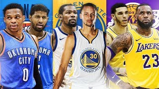 RANKING THE BEST STARTING FIVE FROM EACH NBA TEAM