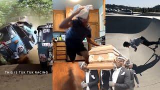 Coffin dance Meme sports compilation 2020 | sports fails | people's funny funeral meme 😀