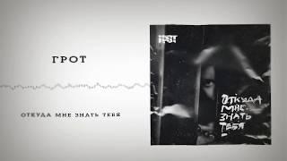 ГРОТ - Откуда мне знать тебя (official audio)