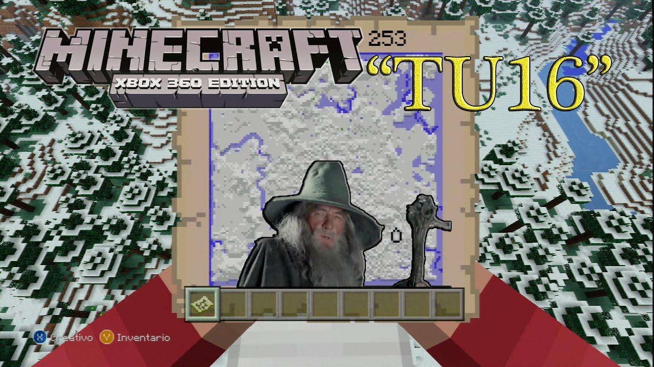 Minecraft Xbox 360 PS3 Semilla Seed Gandalf