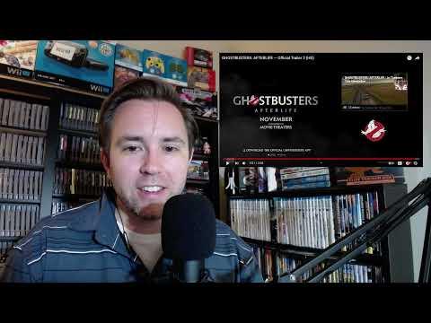 Ghostbusters Afterlife trailer #2 Reaction!   OG Fan Rant
