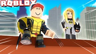 NAJLEPSI SUPERBOHATERZY | Vito i Bella (Roblox 2 Player Superhero Tycoon)
