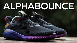 Closer Look: adidas AlphaBOUNCE - Black/Purple