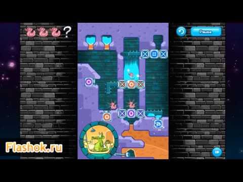 Крокодильчик Свомпи Игра - Сменная Утка | Crocodile Swampy Game - Changeable Duck