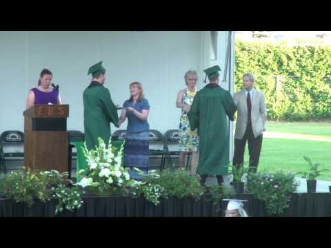 Luis and Simon graduating from Estacada High School 6-8-13