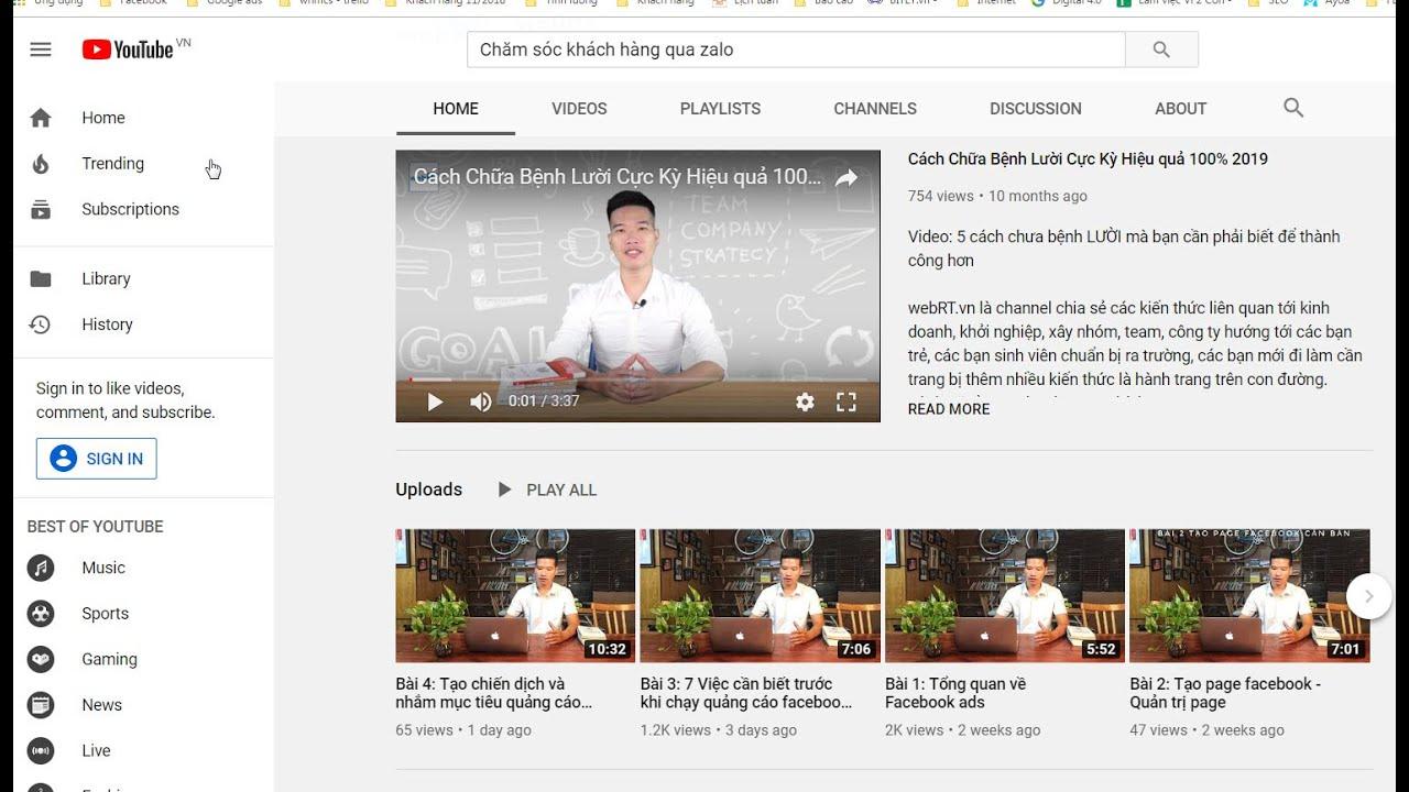 Hướng dẫn chạy quảng cáo video trên youtube Hiệu quả 2020