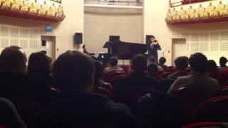 Zoltan Kiss play schubert An die Musik - Op.88 N.4