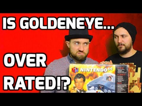 Is Goldeneye for the Nintendo 64 Overrated!? Just Nostalgia? - Top Hat Chat