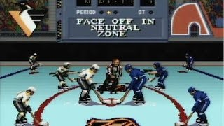 CGR Undertow - NHL STANLEY CUP review for Super Nintendo