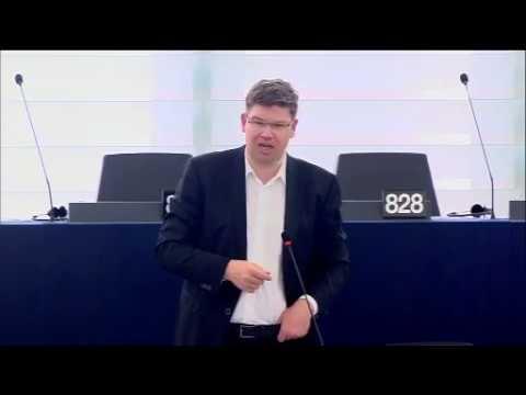 Janusz Korwin-Mikke - Awesome Response RE: EU Space Capabilities & Venezuela - 08.06.2016