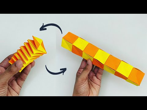 how-to-make-paper-magic-cube-spiral-for-kids-/-nursery-craft-ideas-/-paper-craft-easy-/-kids-crafts