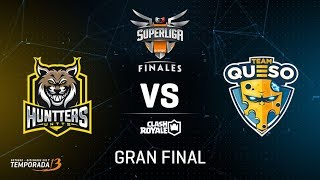 HUNTTERS ESPORTS VS TEAM QUESO  - FINAL - SUPERLIGA ORANGE - #SUPERLIGAORANGECR