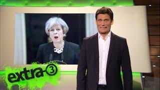 Christian Ehring: Neuwahlen in Großbritannien – Alles neu macht die May