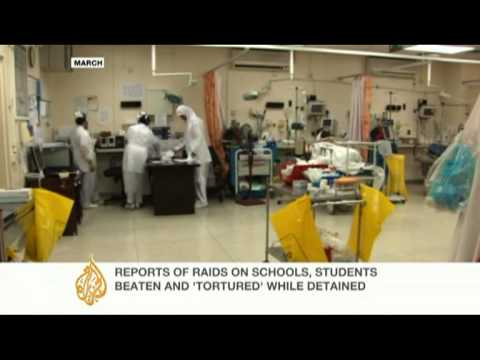 Medical centres in Bahrain raided