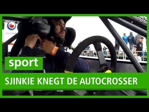 SPORT: Sjinkie Knegt de autocrosser
