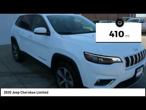 2020 Jeep Cherokee Iowa City IA J3557