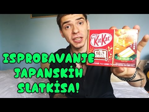 "Isprobavanje japanskih slatkisa! ""Cudna lizalica"" TokyoTreat / Japanese Candy / Unboxing"