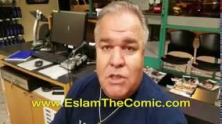 ESLAM The Comic on President Trump - MUST SEE