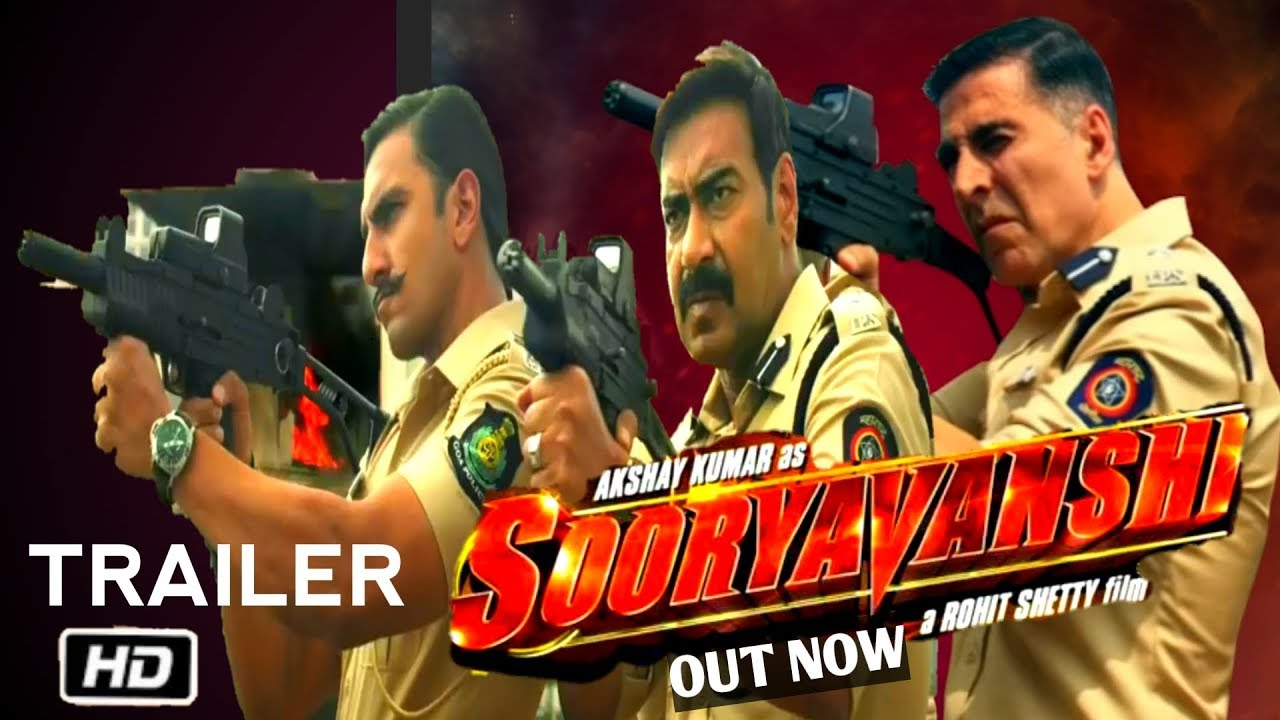 Suryvanshi Movie Official Trailer Out । Sooryavashi Ajay ...