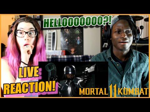 OMG!! FREEZE DIRTBAG! MK11: Aftermath Reveal LIVE REACTION! |