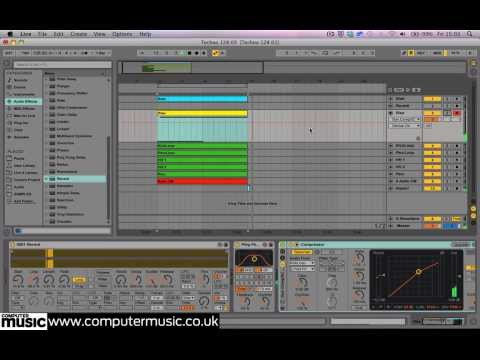 Using Ableton Live's Reverb Freeze to create organic build-up FX