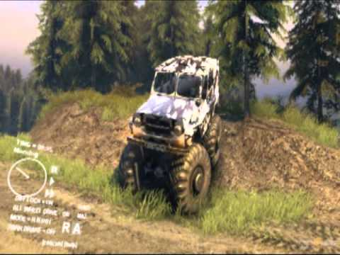 Spin tires ( SPiNTiRES 2013 ) -MAZ+UAZ 2camo + UAZ TRIAL+MONSTER ;)