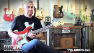 1962 Dakota Red S Series | REBELRELIC GUITAR SHOWCASE 2012