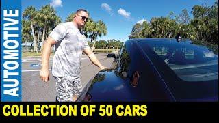 50 different cars GoPro trunk viewpoint Corvette Mustang Camaro   Jarek in Tampa Bay Florida USA