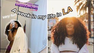 a week in my life in LA!   leahallyannah