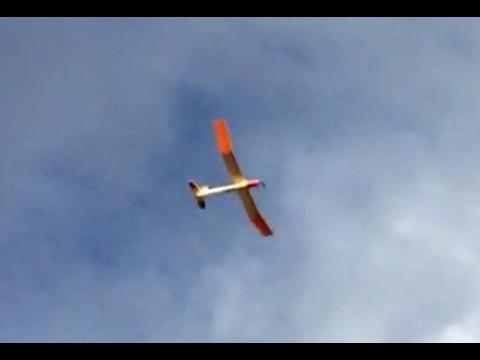 """One Sheet Glider """"OSG"""" Scratch Build RC Foamie Sailplane"""
