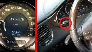 Hidden Function of Cruise Control on Mercedes CLS, W211, W219 / Cruise Control Mercedes CLS, W211