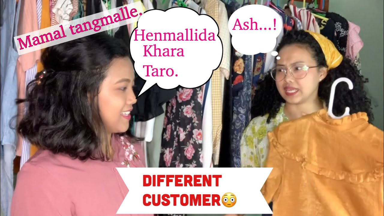 Different types of customer in clothing shop || Manipuri || Vabani || 2020