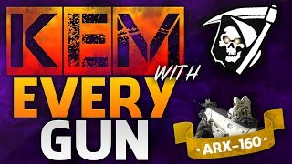 KEM w/Everygun! - (ARX-160) - Call of Duty: Ghosts