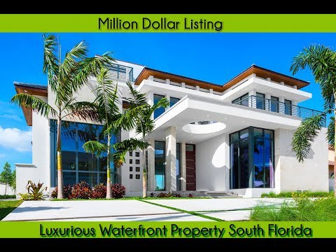 Million Dollar Listing | luxurious waterfront property south florida