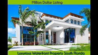 Million Dollar Listing | luxurious waterfront property south florida