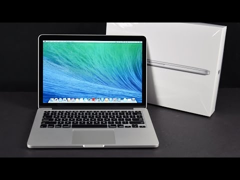 Apple MacBook Pro 13-inch with Retina Display (Late 2013): Unboxing, Demo, & Benchmarks